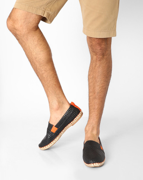 Textured Woven Espadrilles By AJIO ( Assorted )