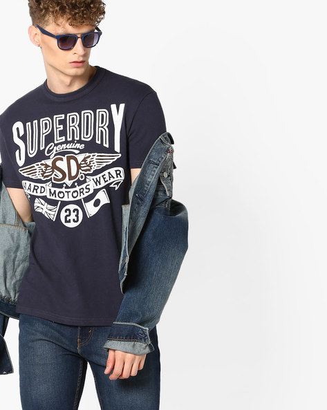 Hard Wear Crew-Neck T-shirt By SUPERDRY ( 00s )