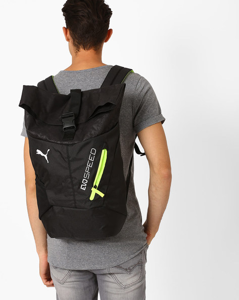 EvoPower Football Backpack With Laptop Compartment By Puma ( Black )