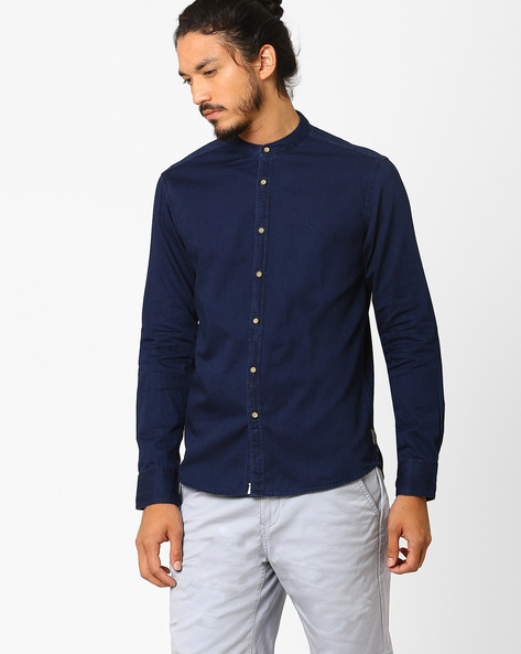 Slim Fit Cotton Shirt By FLYING MACHINE ( Assorted ) - 440720157003