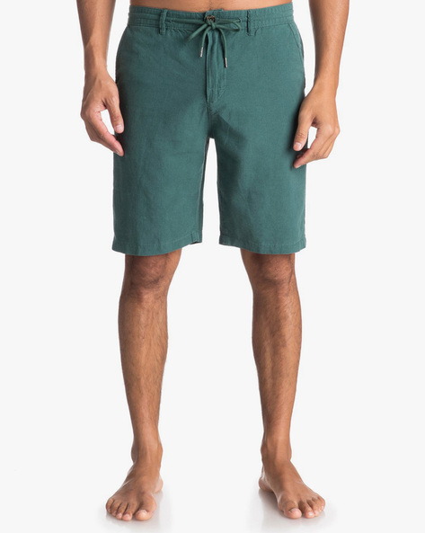 Mid-Rise Shorts With Drawstring Waist By QUIKSILVER ( Gqn0 )