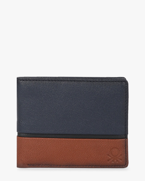 Colourblock Bi-Fold Wallet By UNITED COLORS OF BENETTON ( Navy )