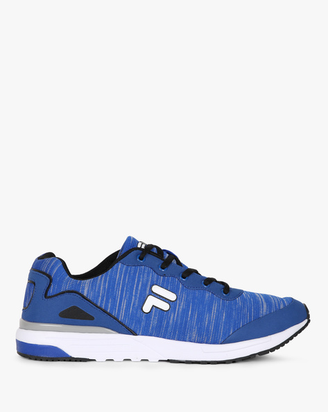 Oliver Mid-Top Panelled Sneakers By FILA ( Royalblue )