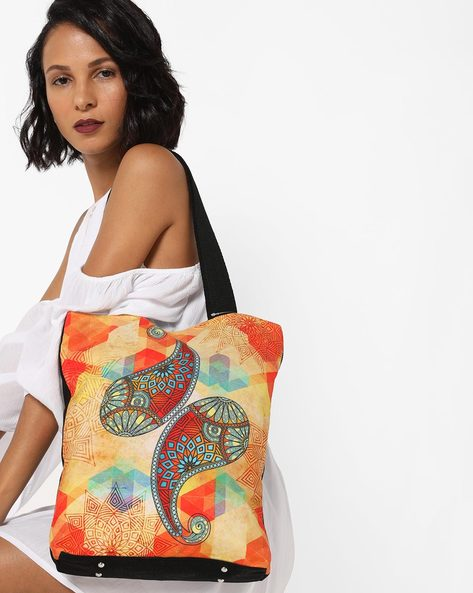Digital Print Tote Bag By All Things Sundar ( Multi )