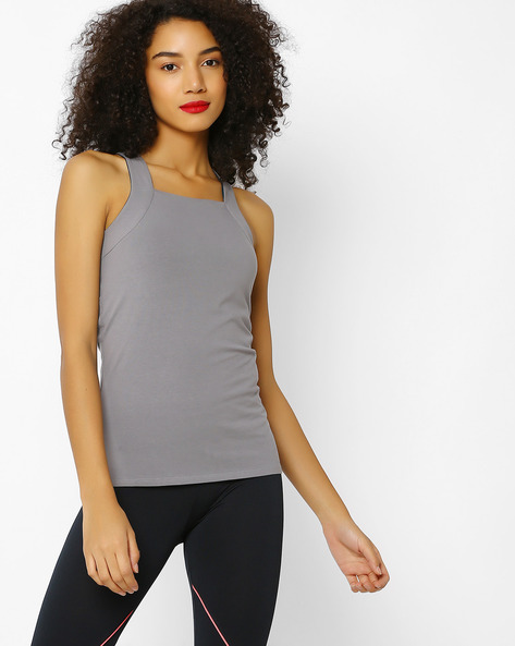 Racerback Tank Top With HYPERBREATH By Proyog ( Grey )