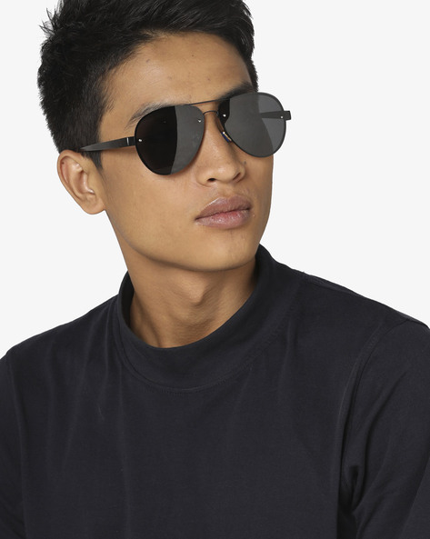 UV Protected Sunglasses With Full Rim By Pataaka ( Black )