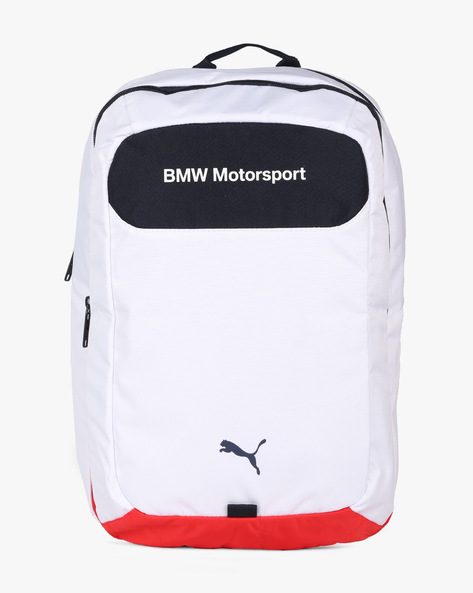 BMW Motorsport Laptop Backpack By Puma ( White )