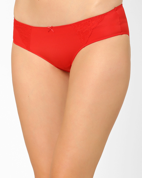 Seamless Hipster Panties By Amante ( Red )