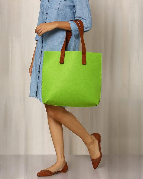 Felt Tote Bag By Indie Picks ( Rust )