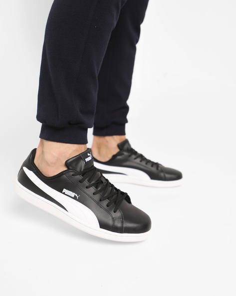 Lace-Up Sneakers By Puma ( Black )