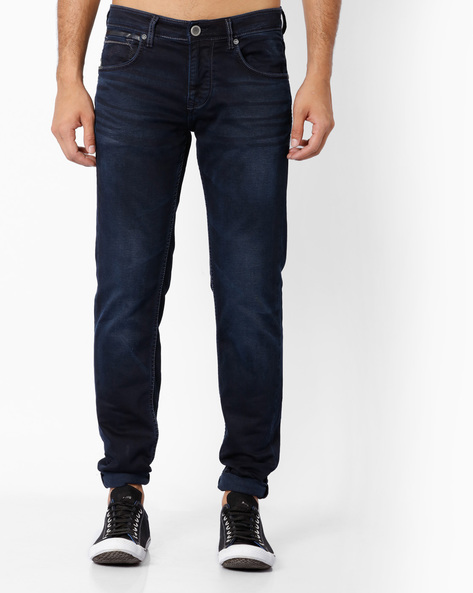 9249 Mid-Rise Slim Fit Jeans By Killer ( Indigo )