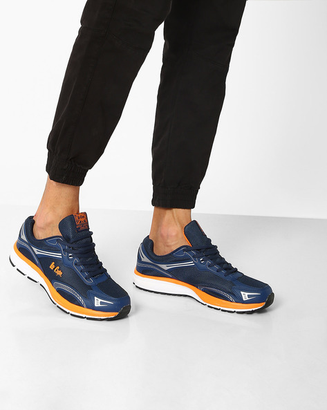 Sports Shoes With Contrast Midsole By Lee Cooper ( Navy )