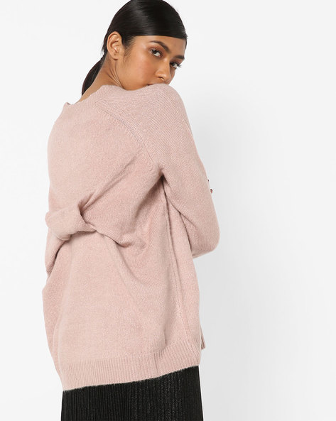 Pullover With Raglan Sleeves By Only ( Rose )