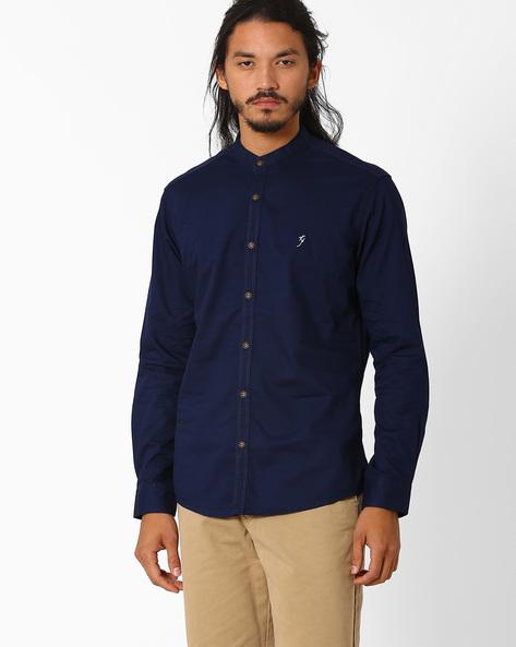 Mandarin Collar Shirt By Killer ( Assorted )