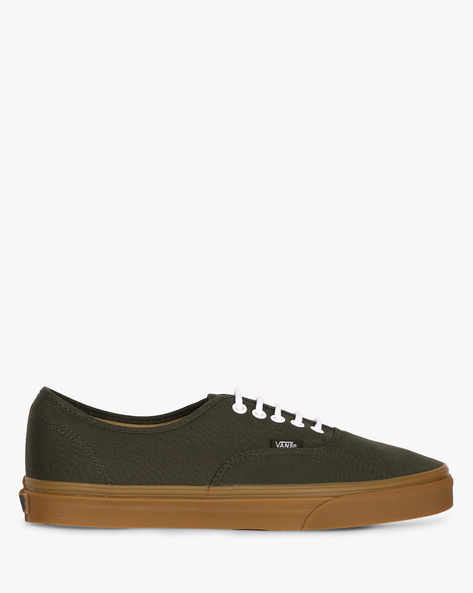 Rosin Casual Shoes With Lace-Ups By Vans ( Blue )