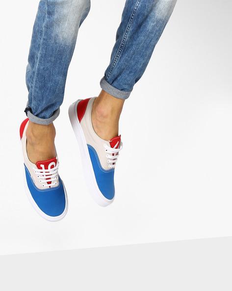Colourblock Era Low-Top Shoes By Vans ( Red )