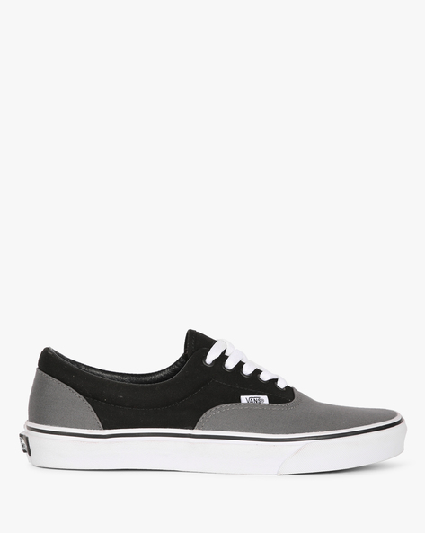 Colourblock Lace-Up Casual Shoes By Vans ( Grey )