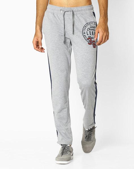 Regular Fit Track Pants By TEAM SPIRIT ( Greymelange )