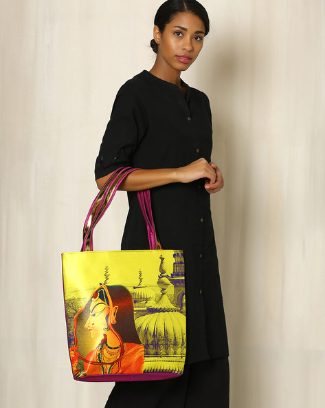 Digital Print Tote Bag By All Things Sundar ( Multi ) - 460040290001