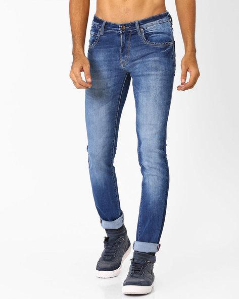 Slim Fit Jeans By SIN ( Indigo )
