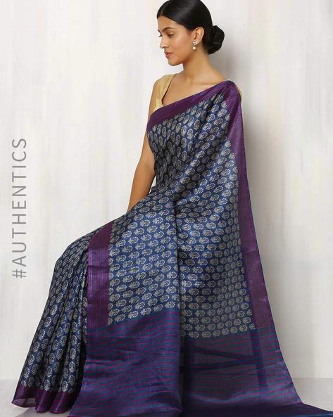 Art Silk Printed Buta Saree By Rudrakaashe-MSU ( Multi )
