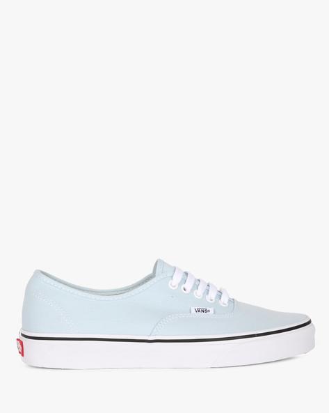 Canvas Authentic Lace-Up Casual Shoes By Vans ( Blue )
