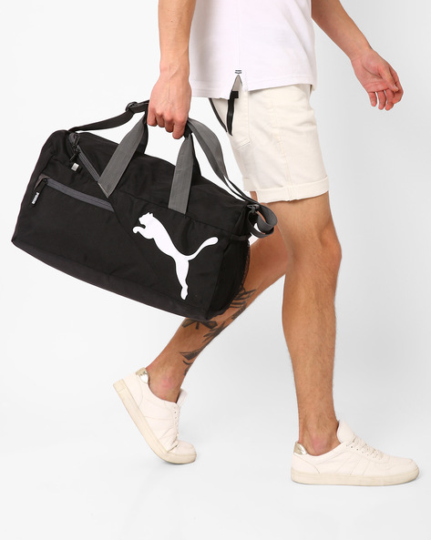 Fundamentals Sports Duffel Bag By Puma ( Black )