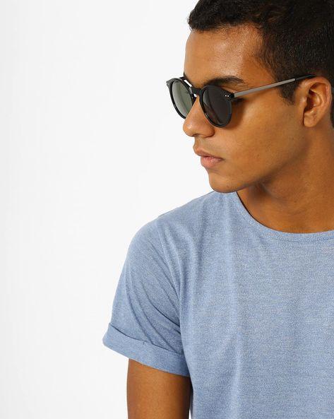 Full-Rim Round Sunglasses By MTV ( Green )