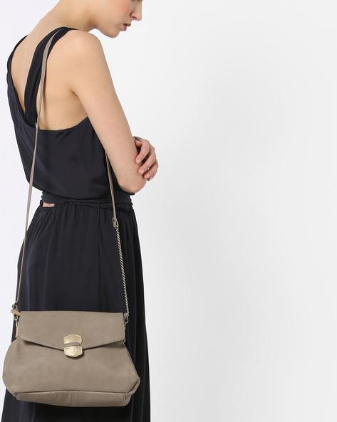 L Tuscan Y G Sling Bag By BAGGIT ( Khaki )