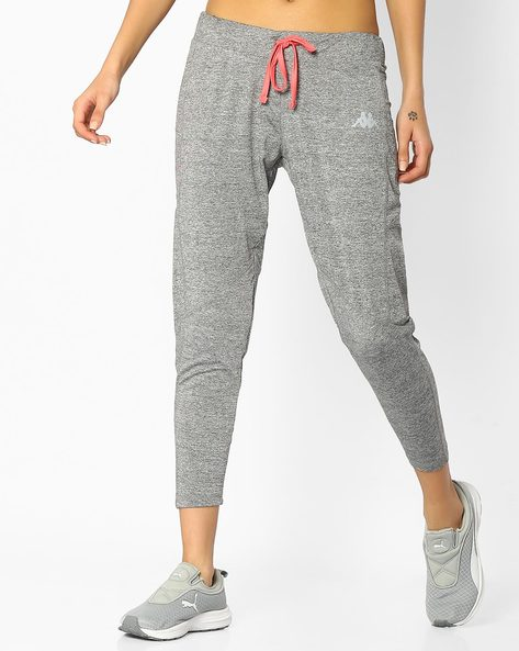 Panelled Pants With Elasticated Waist By KAPPA ( Grey )