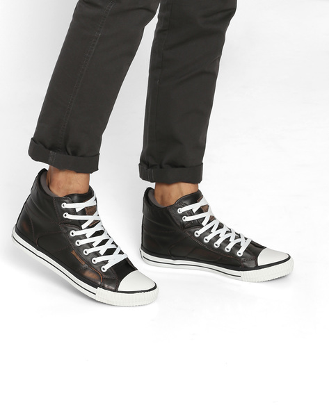Roco Lace-Up Casual Shoes By British Knights ( Drkbrown )