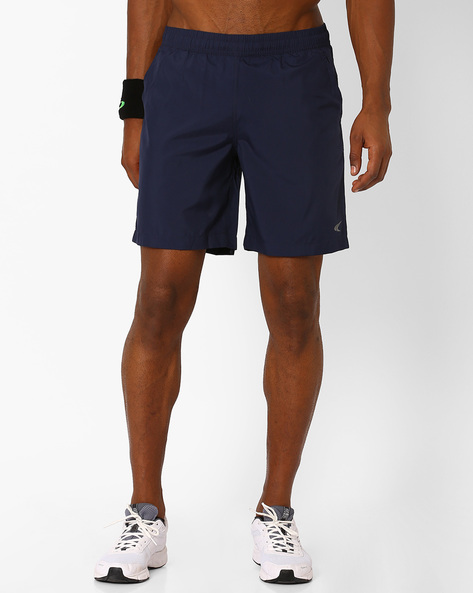 Basic Regular Fit Woven Shorts By PERFORMAX ( Navy )