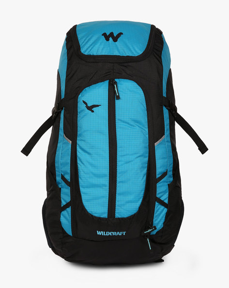 Hawk Water-Resistant Travel Backpack By Wildcraft ( Blue )