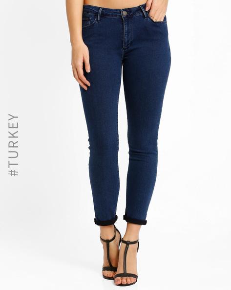 Slim-Fit Jeans By Cross Jeans ( Black )