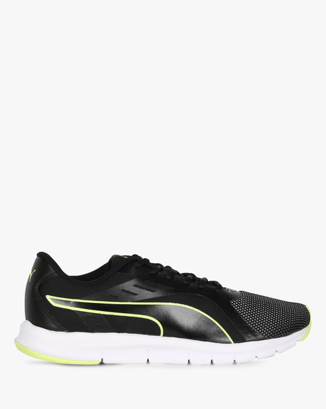 Felix Runner IDP Lace-Up Sports Shoes By Puma ( Black )