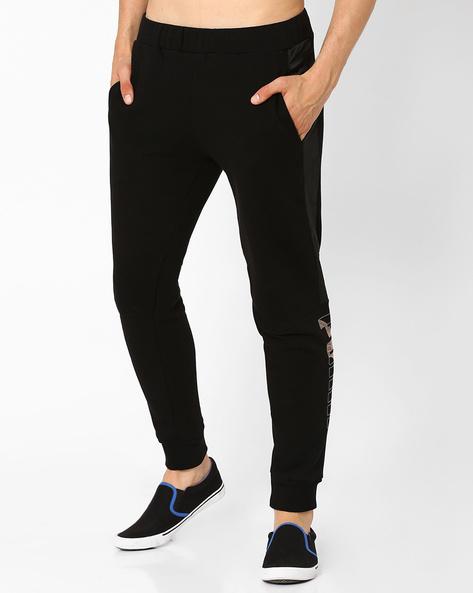 LUX Panelled Sweat Pants By Puma ( Black )