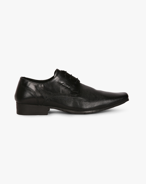 Genuine Leather Upper Formal Shoes By RED TAPE ( Black )