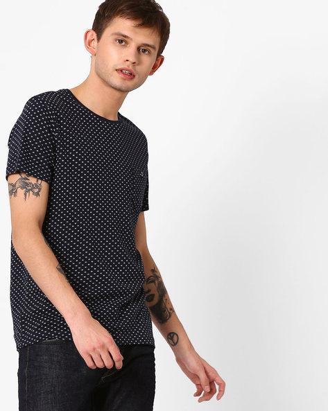 Slim Fit Printed T-shirt By GAS ( 0194 )