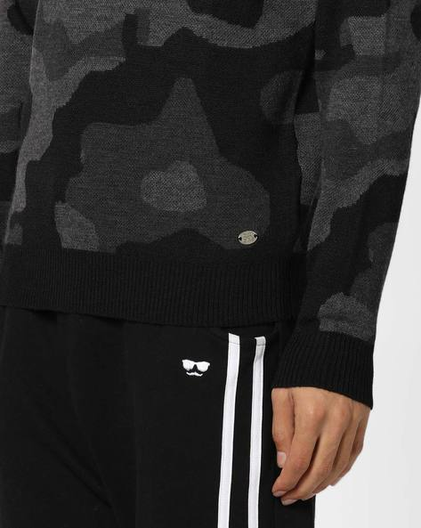 Crew-Neck Pullover With Patterned Knit By GAS ( 200 )