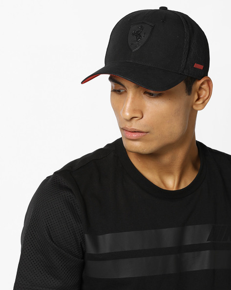 Ferrari LS Scorpion Cap By Puma ( Black )