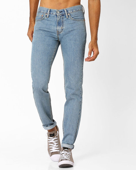 511 Low-Rise Slim Fit Jeans By LEVIS ( Blue ) - 460027934005