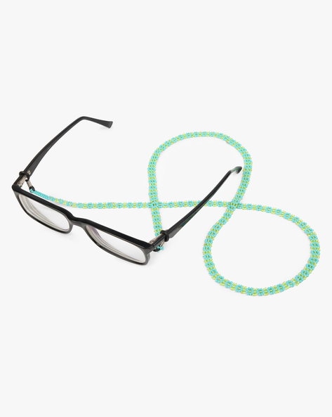 Eye Glass Beaded String By Indie Picks ( Blue )