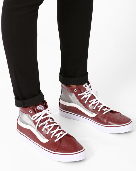 Hi Slim Cut-Out Casual Shoes By Vans ( Multi )