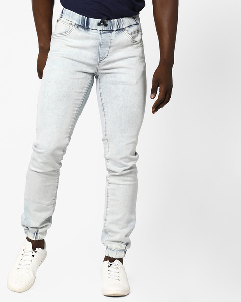 BEN AR 713 Jogger Jeans By Jack & Jones ( Blue )
