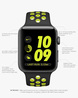 Space Grey Smartwatch with 42 mm Aluminium & Nike Sport Band