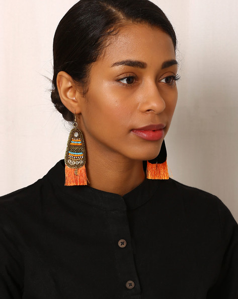 Beaded Drop-Earrings By Indie Picks ( Multi ) - 460042567001