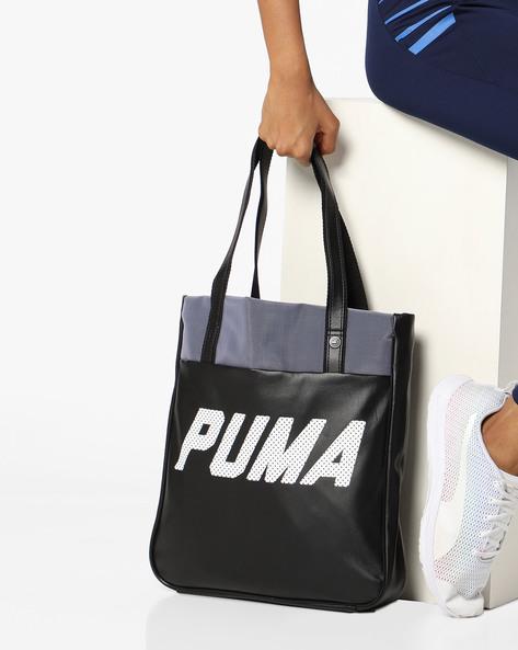 a787c4e213 Fundamentals Shopper Tote Bag By Puma ( Blue ) Best Deals With Price ...