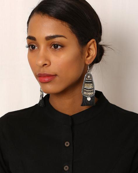 Beaded Drop-Earrings By Indie Picks ( Multi ) - 460042570001