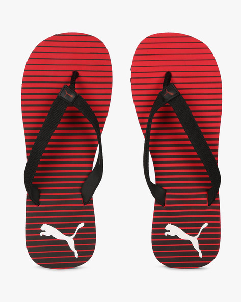 IDP Thong-Style Flip-Flop Sandals By Puma ( Red )