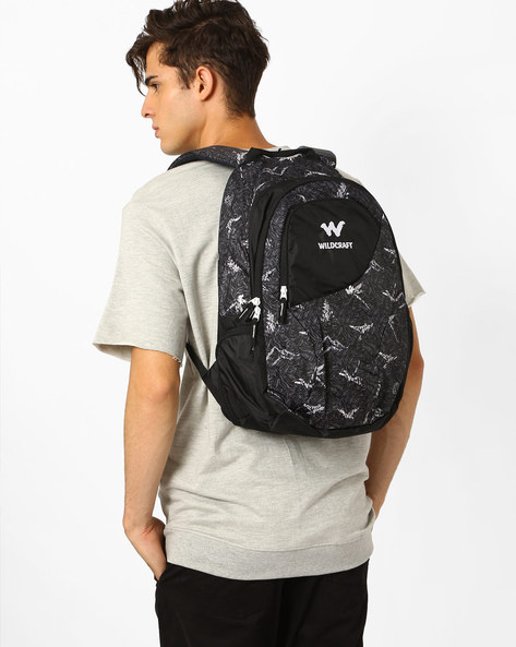 Nature 4 Backpack By Wildcraft ( Black )